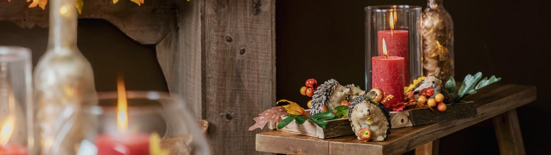 Herbst-Kunstblumen