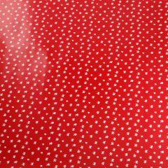 Geschenkpapier Funny, rot, Sterne, 5 m