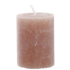 Kerze Rustik, Lara, karamell, 9 cm