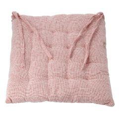 Stuhlkissen Marah, pink, 40 x 40 cm