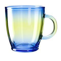 Teeglas farbig, blau, 380 ml