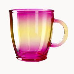 Teeglas farbig, pink, 380 ml