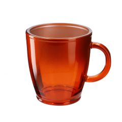 Teeglas Metallic, orange, 380 ml