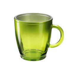 Teeglas Metallic, grün, 380 ml