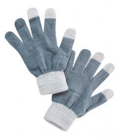 Handy-Handschuhe, silber/grau