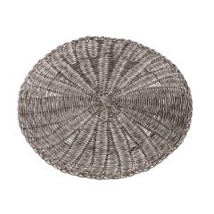Platzset Rattanoptik, grau, 38 cm