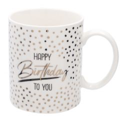 Becher Anlass/Dots, Happy Birthday, 300 ml