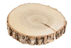 Deko-Holzscheibe, 15 cm