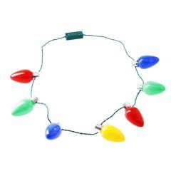 LED-Halskette Xmas, bunt