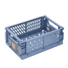 Klappbox, 25 x 16.5 cm, hellblau