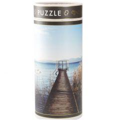 Puzzle Motiv, Bootssteg, 300 Teile