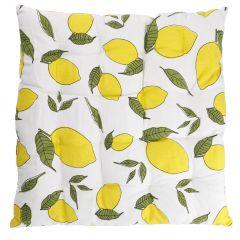 Stuhlkissen Frucht, Zitrone, 40 x 40 cm