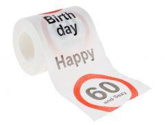 Toilettenpapier Birthday, 60 Jahre, 24 Meter