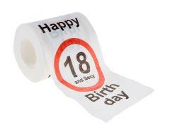 Toilettenpapier Birthday, 18 Jahre, 24 Meter