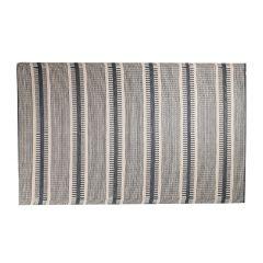 Teppich Outdoor, Streifen beige/schwarz, 120 x 180 cm