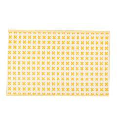 Teppich Outdoor, Kreuz gelb/weiß, 120 x 180 cm