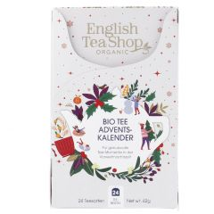 Adventskalender Bio-Tee, 42 g, weiß