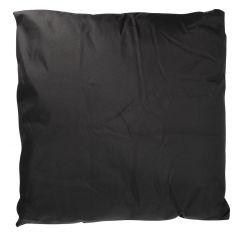 Sitzkissen Outdoor, schwarz, 50 x 50 cm