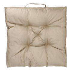 Stuhlkissen Outdoor, beige, 45 x 45 cm