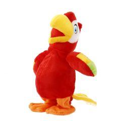 Papagei, rot/laufend, Nachsprechfunktion