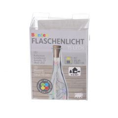 LED-Flaschenlicht, Solar, multicolor