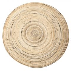 Teller Bambus, Streifen, 40 cm