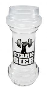 Bierglas Hantel, Starkbier, 830 ml