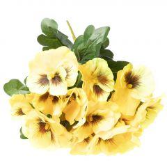 Stiefmütterchen, gelb, 32 cm