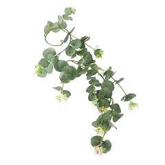 Girlande Eucalyptus, grün, 75 cm