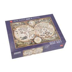 Puzzle Welt, 2000 Teile