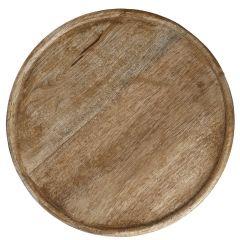 Deko-Schale Holz, rund, 20 cm