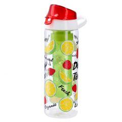 Detox-Trinkflasche mit Einsatz, Erdbeere, 650 ml