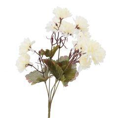 Strauß Chrysantheme, weiß, 38 cm