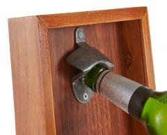 Trinkspiel Flaschenöffner, Holz