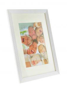 Bilderrahmen Classic, 30 x 40 cm, weiß