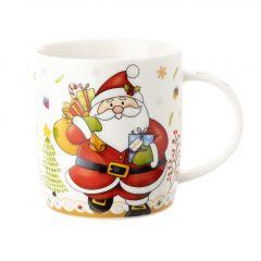 Becher Weihnachtsmann, Sack, 350 ml