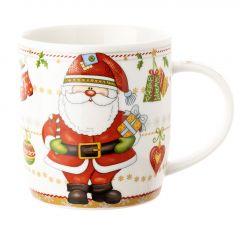 Becher Weihnachtsmann, Steh, 350 ml
