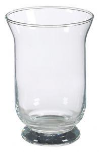 Glas-Windlicht, Höhe 20 cm