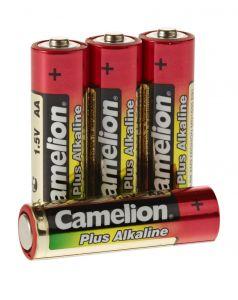 Plus Alkaline Batterien 1,5V, Typ AA, 4er-Pack
