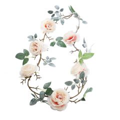 Girlande, Rose Edel, 170 cm