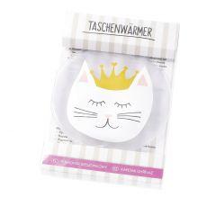Taschenwärmer Katze, 12 cm