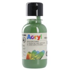 Acrylfarbe, olivgrün, 130 ml
