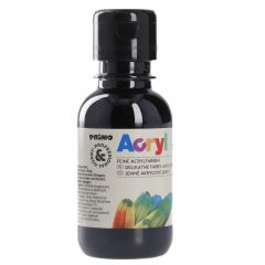 Acrylfarbe, schwarz, 130 ml