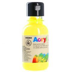 Acrylfarbe, gelb-fluoreszierend, 130 ml