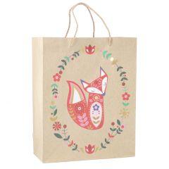 Geschenktüte Waldtiere, Fuchs, 30 cm