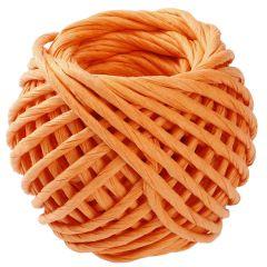Papierkordel, orange, 15 m