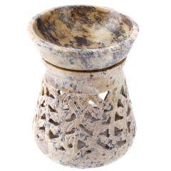 Duftlampe Rustik, halbrunde Öffnung, 11 cm