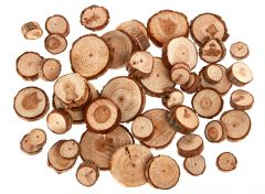 Holzscheiben, natur, 250 g