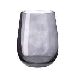 Glas Farbig, schwarz, 475 ml