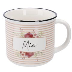 Becher Floral, Mia, 300 ml